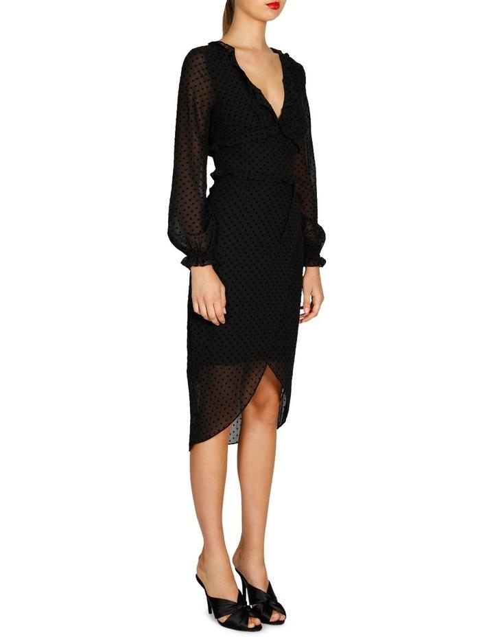 Harper Long Sleeve Drape Dress image 2