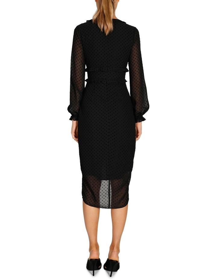 Harper Long Sleeve Drape Dress image 3
