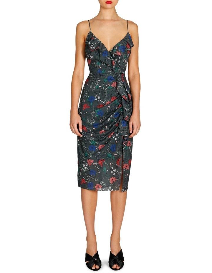 Abella Frill Drape Dress image 1