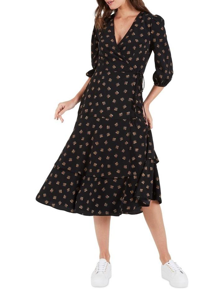 Jade Tie Waist Midi Dress image 1
