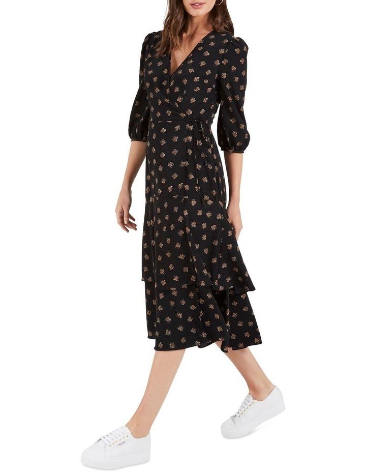 Jade Tie Waist Midi Dress image 3