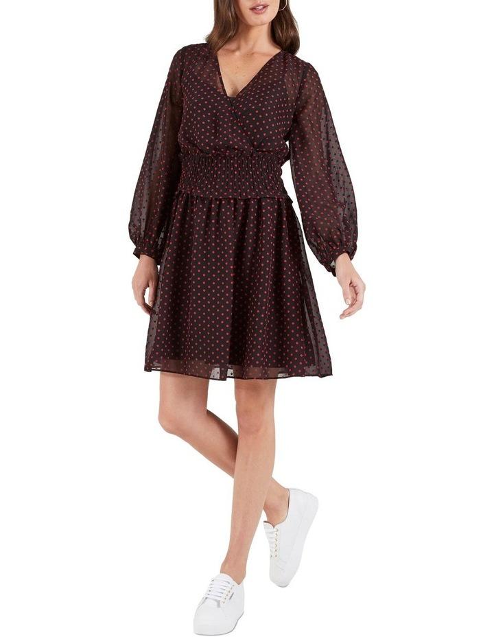 Gracie Tie Sleeve Mini Dress image 1