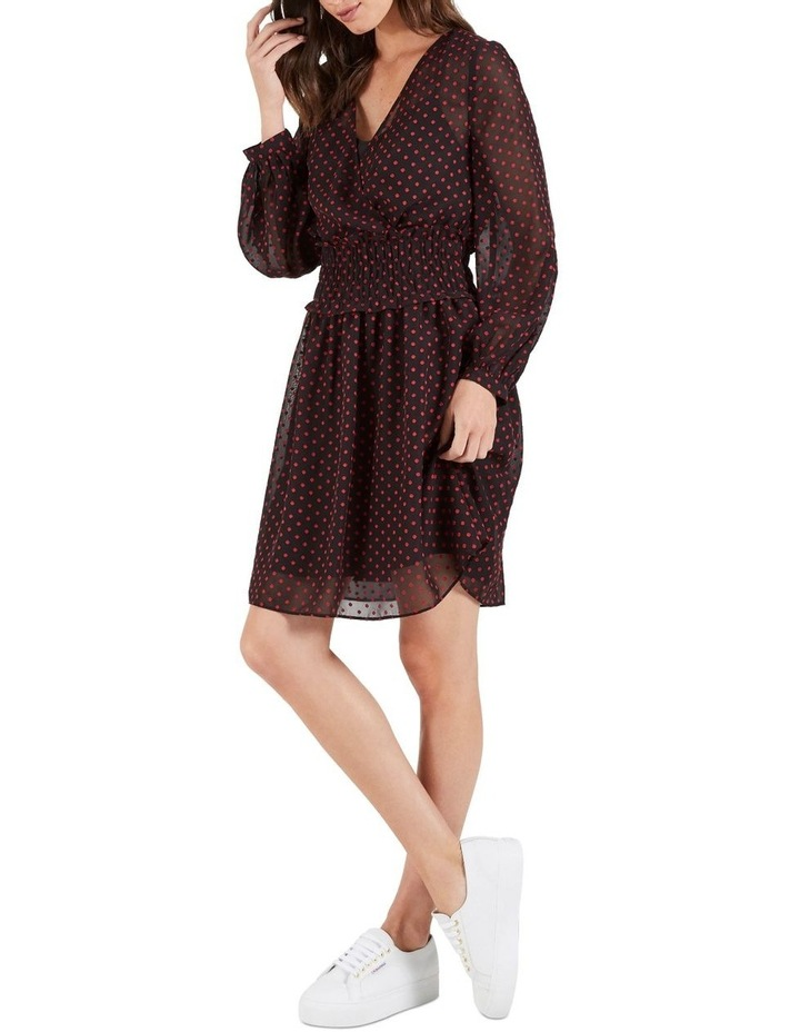 Gracie Tie Sleeve Mini Dress image 3