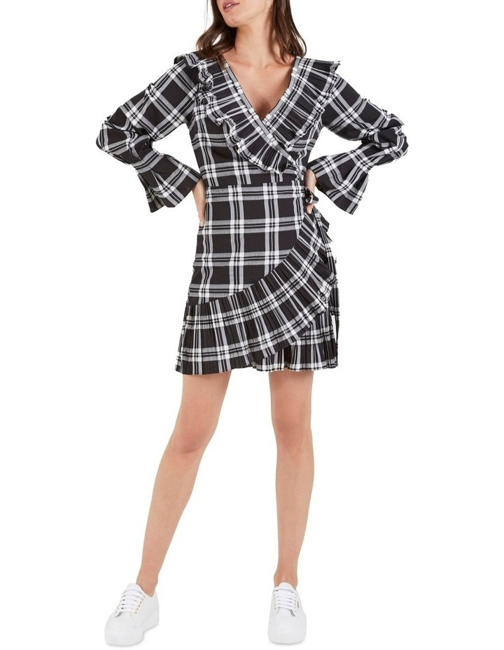 Cascade Lone Sleeve Wrap Dress image 1
