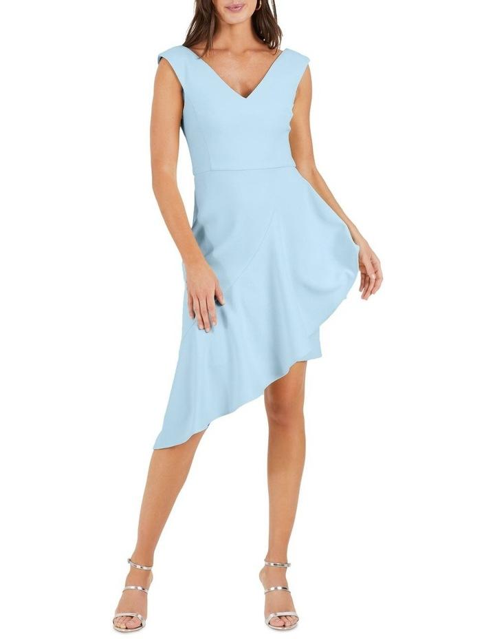 Singer Asymmetric Flounce Dress image 3
