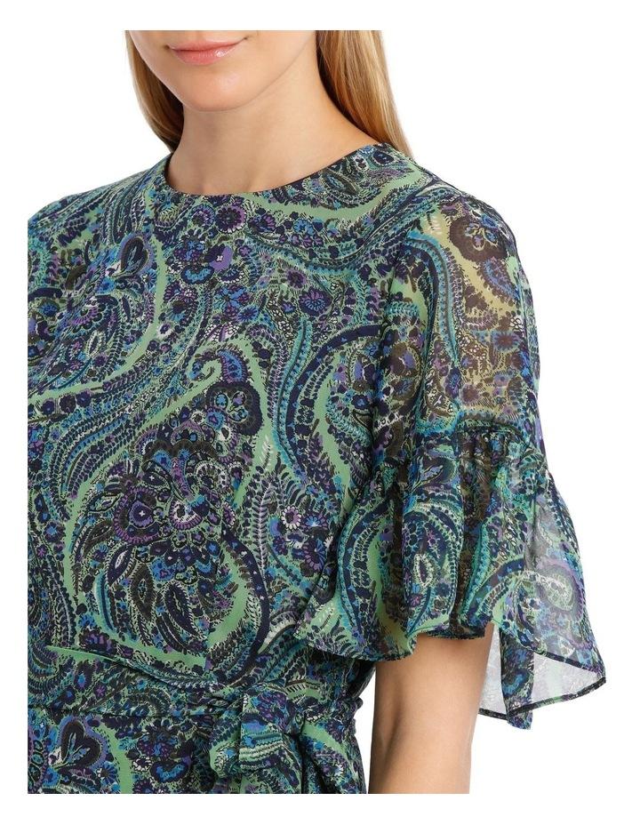 Fleetwood Frill Sleeve Mini Dress image 4