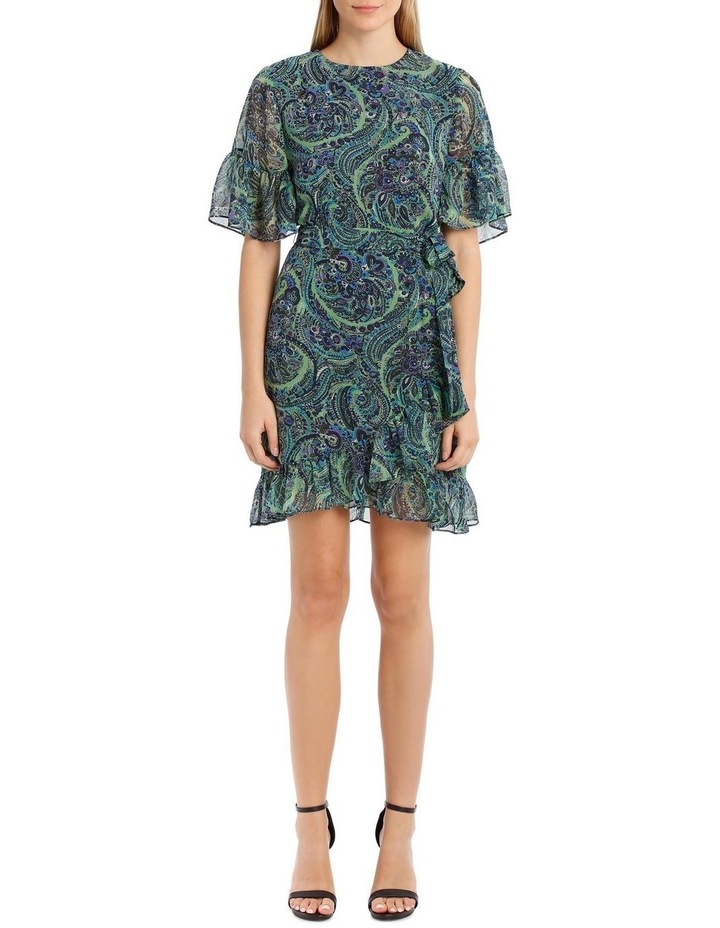 Fleetwood Frill Sleeve Mini Dress image 5