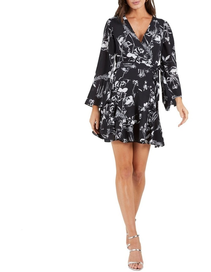 Your Own Way Frill Mini Dress image 1
