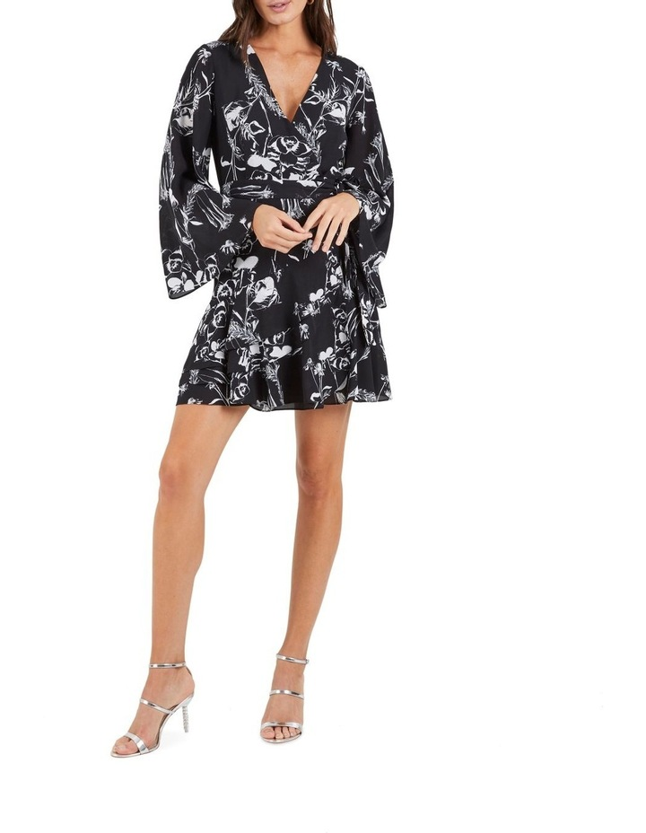 Your Own Way Frill Mini Dress image 2
