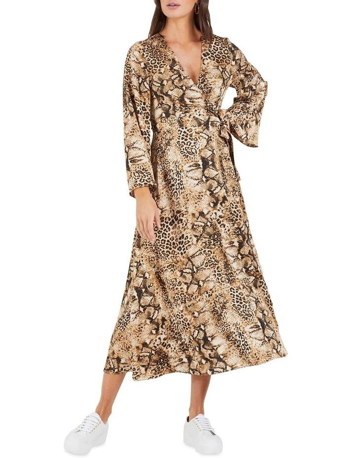 Cant Wait Long Sleeve Midi Dress image 3