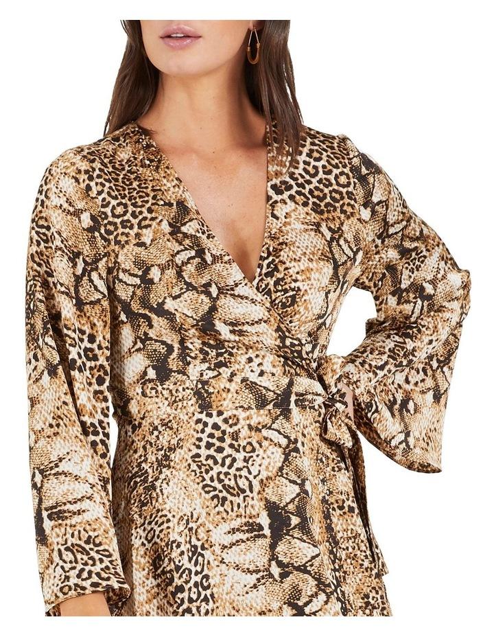Cant Wait Long Sleeve Midi Dress image 4