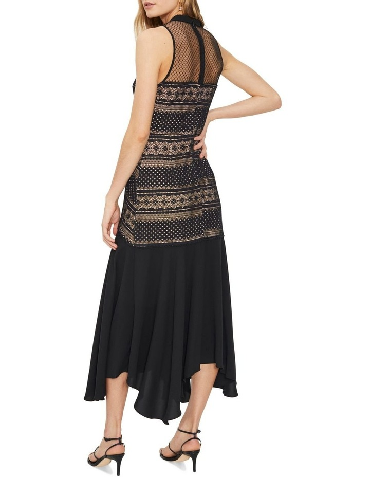 Ana Lace Contrast Midi Dress image 3