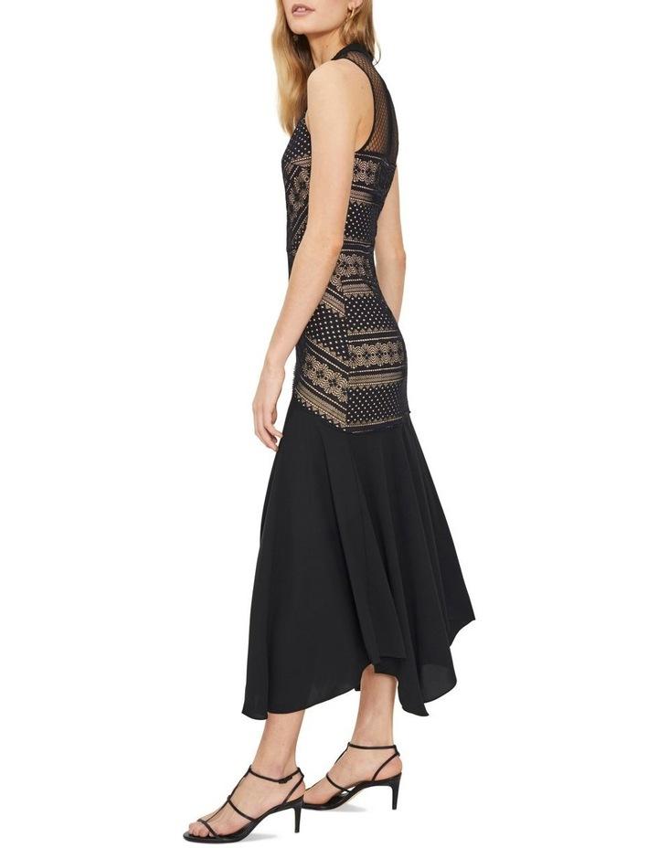 Ana Lace Contrast Midi Dress image 4