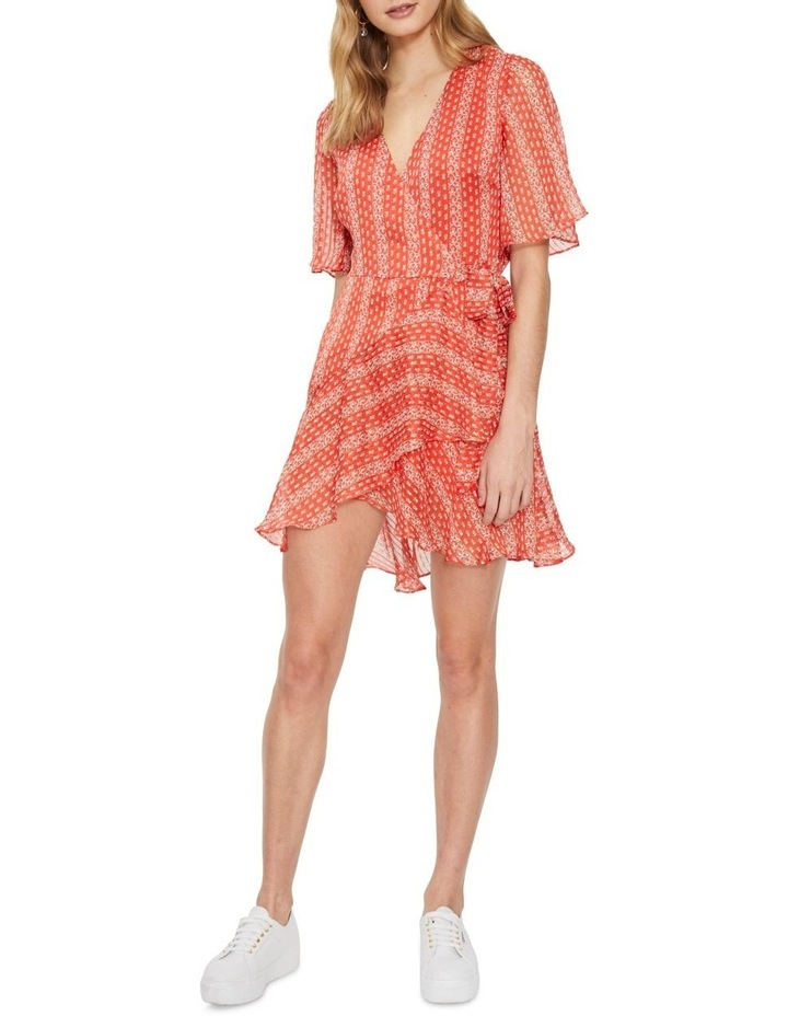 Sutton Wrap Mini Dress image 1