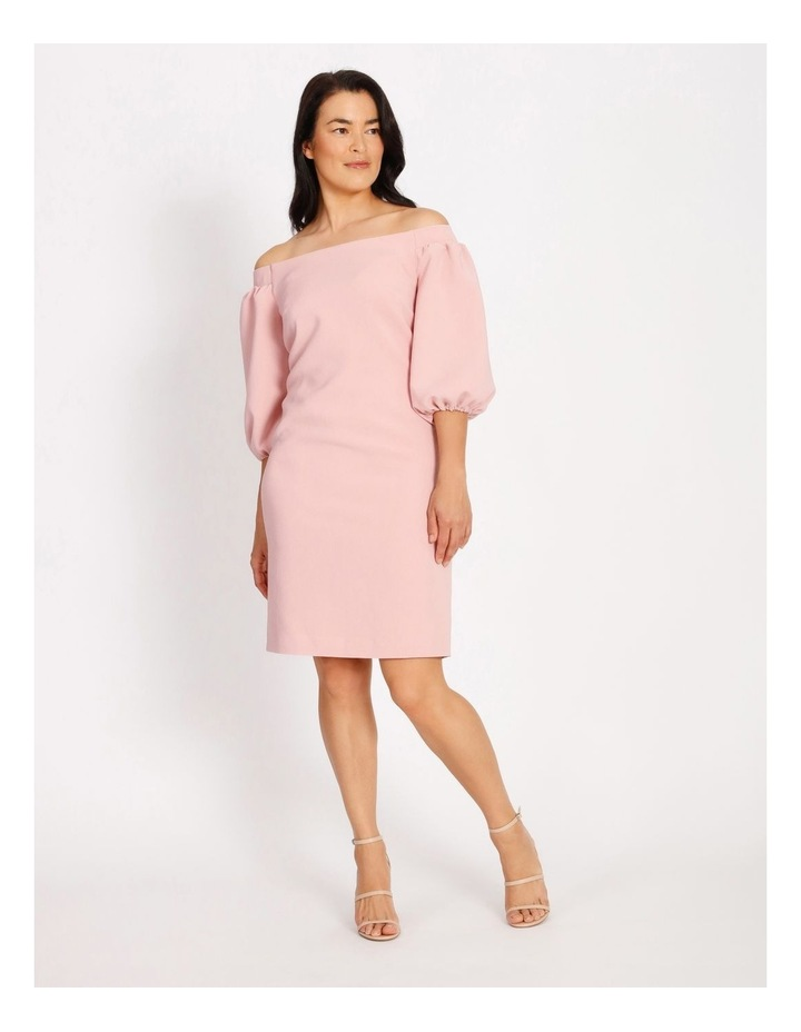 Balloon Off The Shoulder Dress image 1