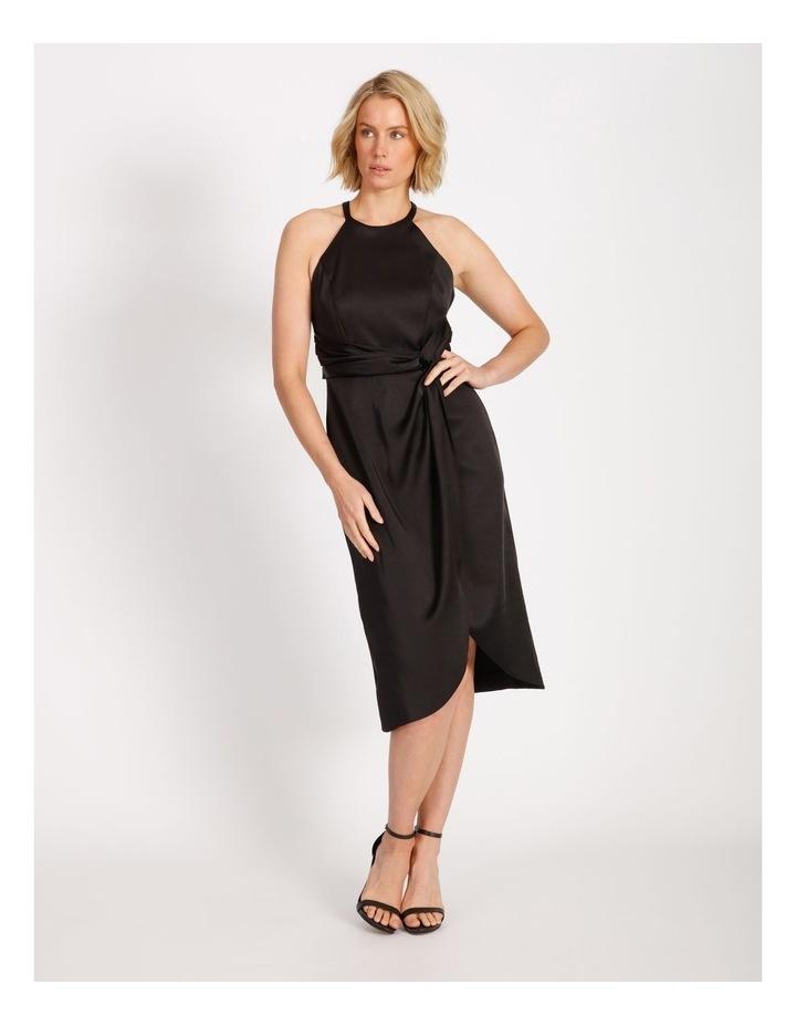 Sarong Tie Waist Dress image 1