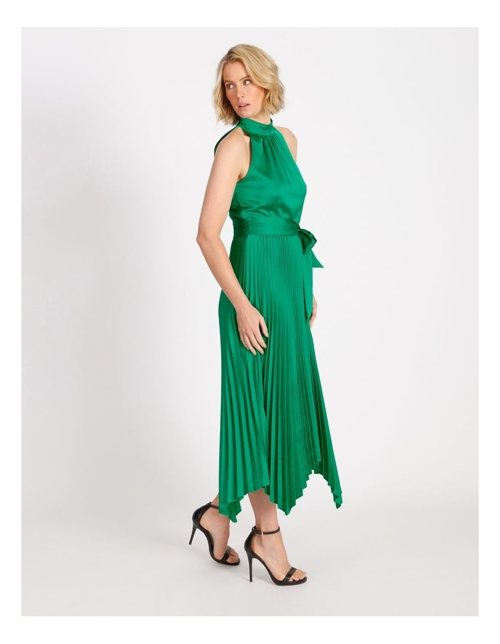 Halter Neck Capri Pleat Dress image 2