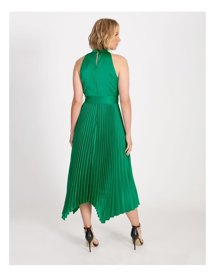 Halter Neck Capri Pleat Dress image 3