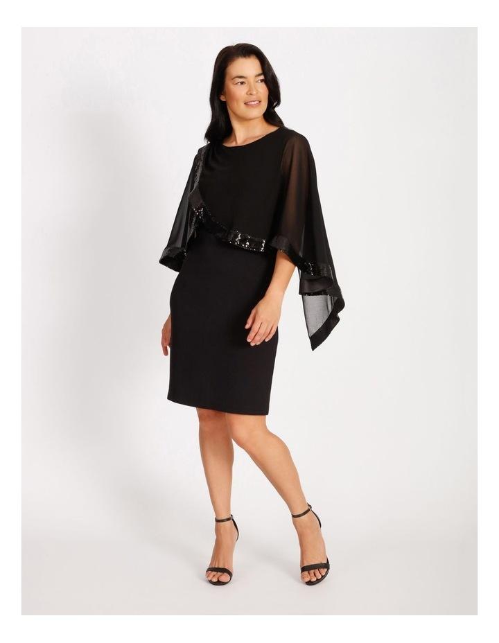 Sequin Overlay Dress image 1