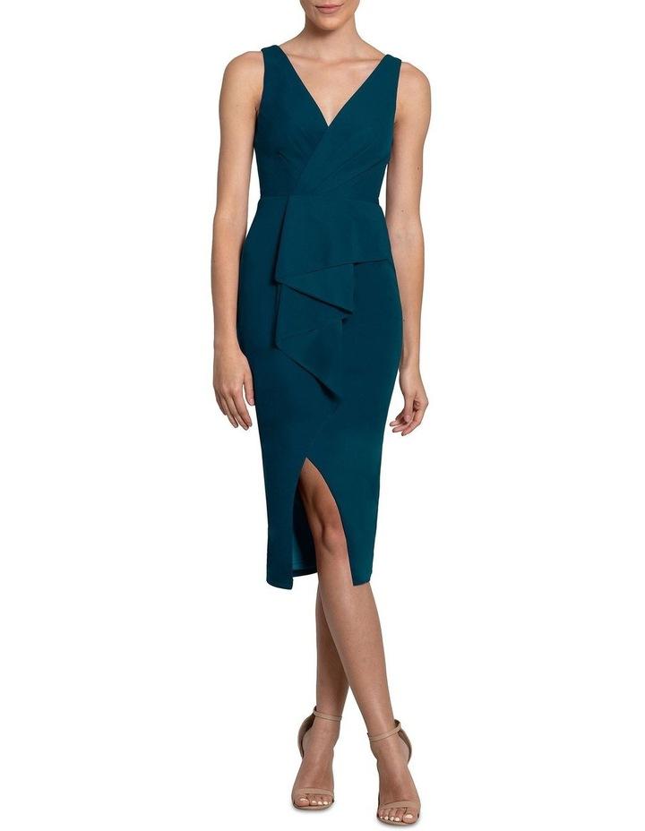 India Wrap Frill Dress image 1