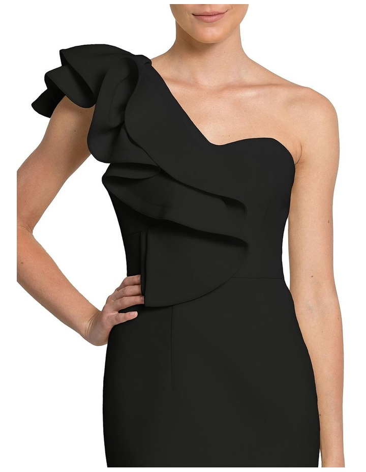 London Ruffle One Shoulder Mini image 2
