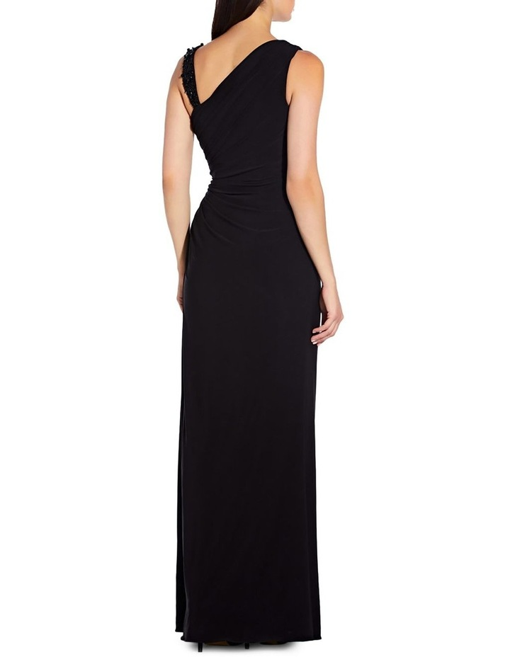 Assymetrical Shirred Gown image 1