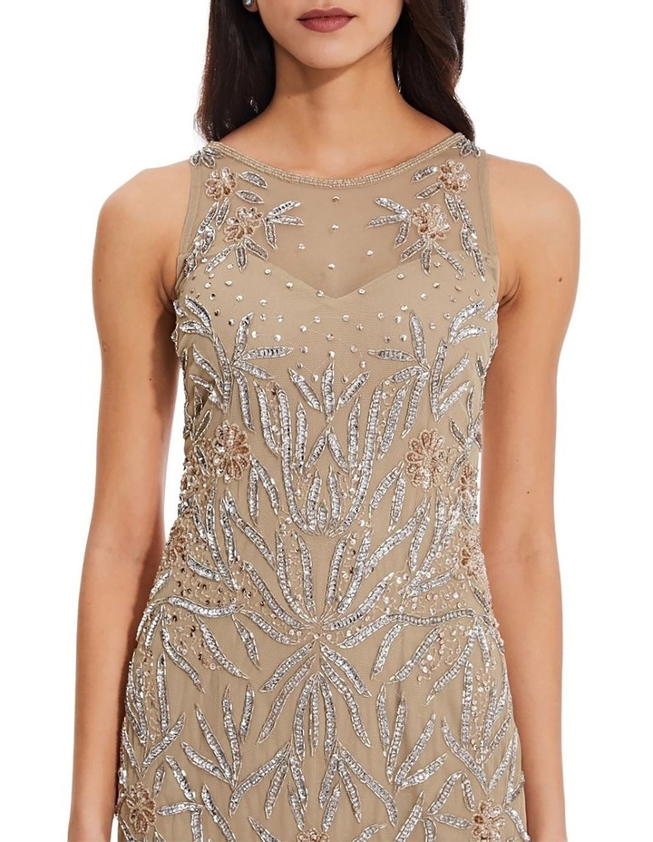 Beaded Halter Gown image 2