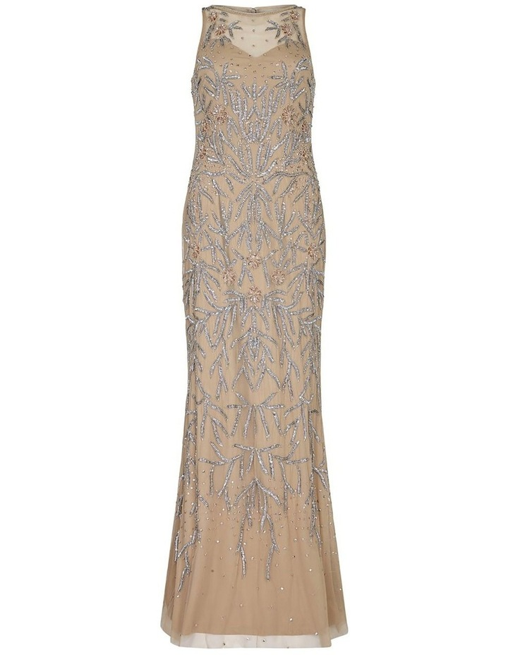 Beaded Halter Gown image 3