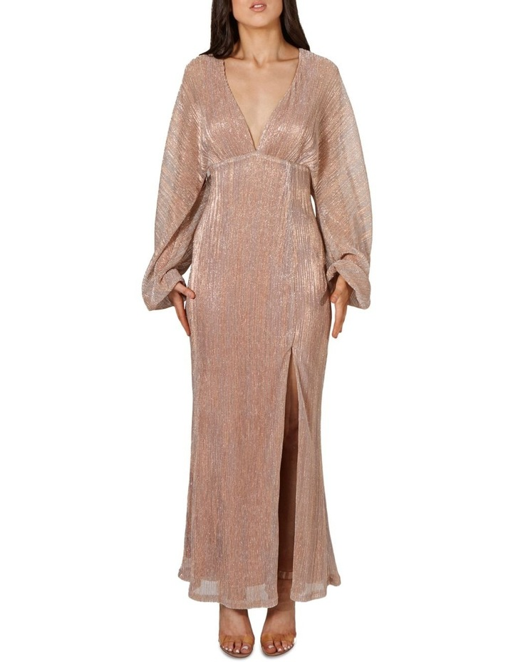 Francesca Batwing Sleeve Maxi Dress image 1