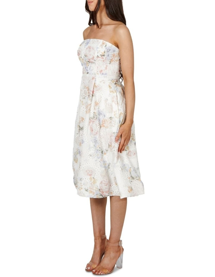 Felicity Strapless A Line Midi Dress image 3