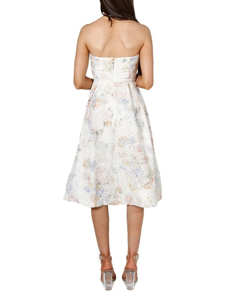 Felicity Strapless A Line Midi Dress image 4