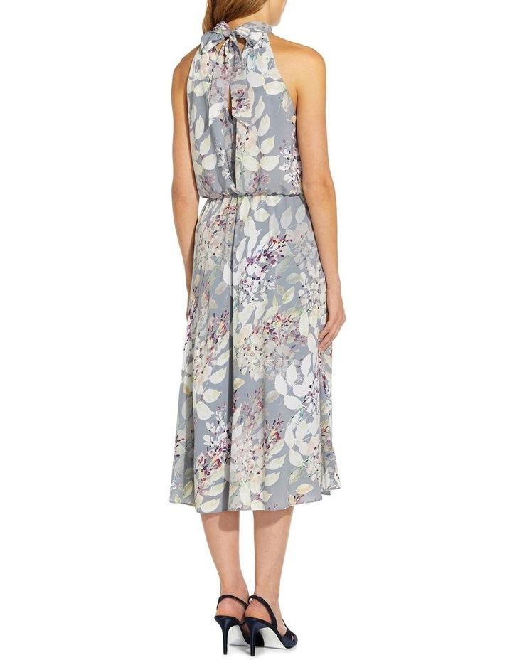Watercolor Floral Midi Dress image 2