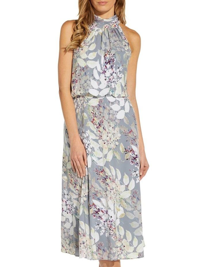 Watercolor Floral Midi Dress image 4
