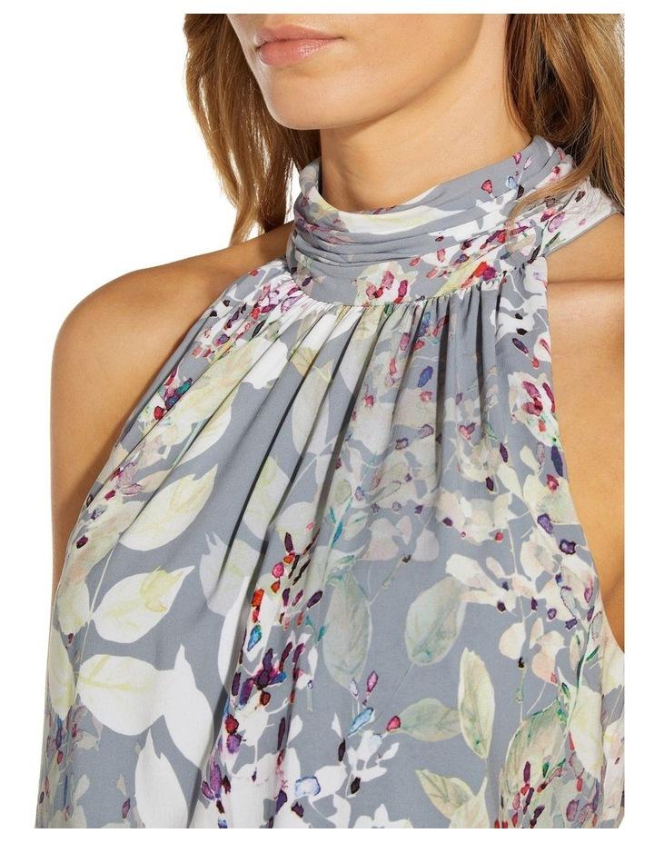 Watercolor Floral Midi Dress image 5