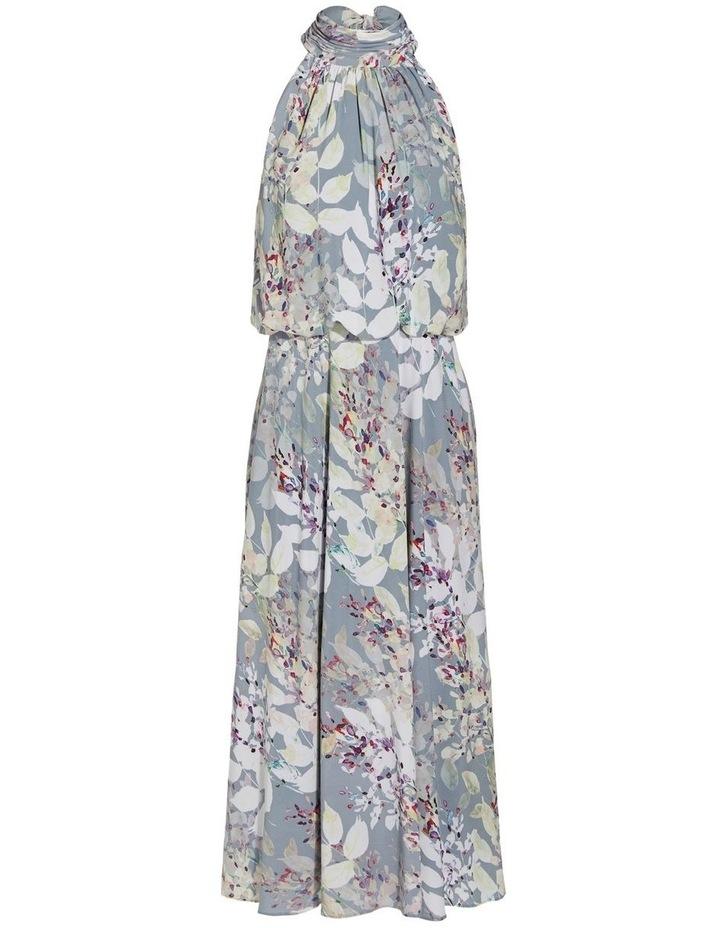 Watercolor Floral Midi Dress image 6