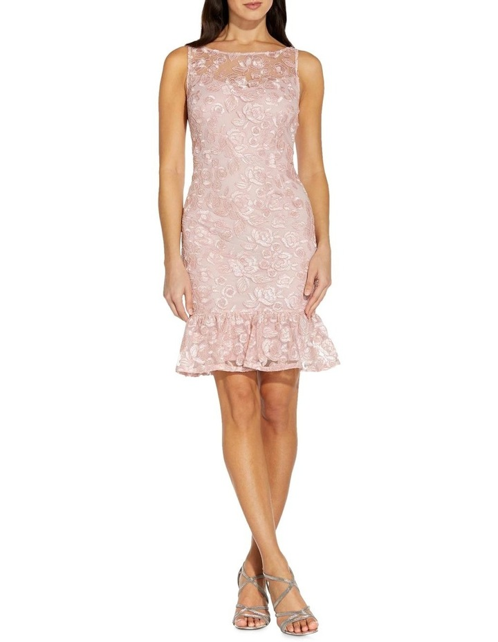 Rosie Embroidery Flounce Dress image 1
