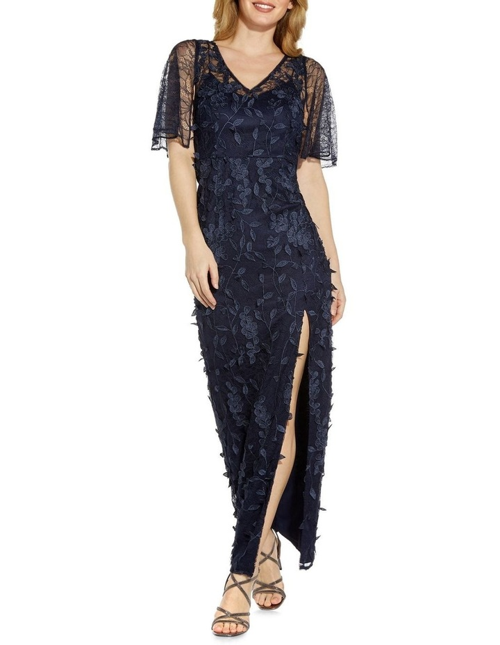 3D Embroidered Gown image 1