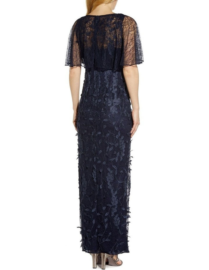 3D Embroidered Gown image 2