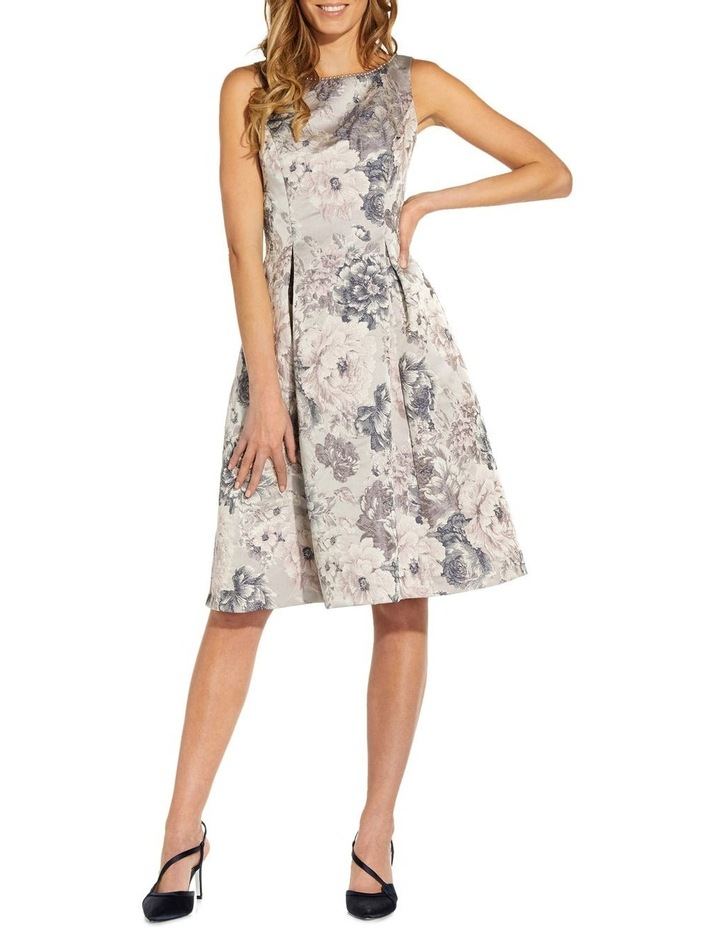 Floral Jacquard Fit And Flare image 1