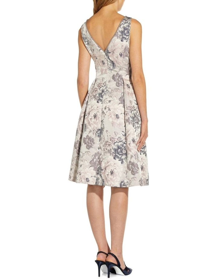 Floral Jacquard Fit And Flare image 2