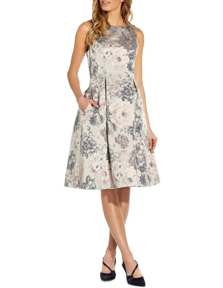 Floral Jacquard Fit And Flare image 3