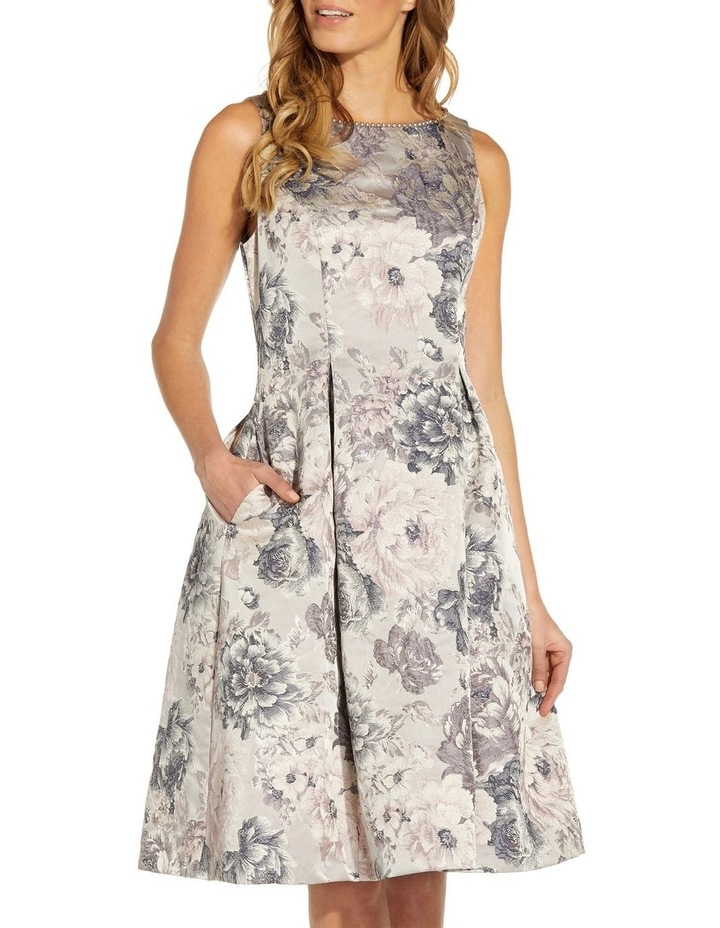 Floral Jacquard Fit And Flare image 4