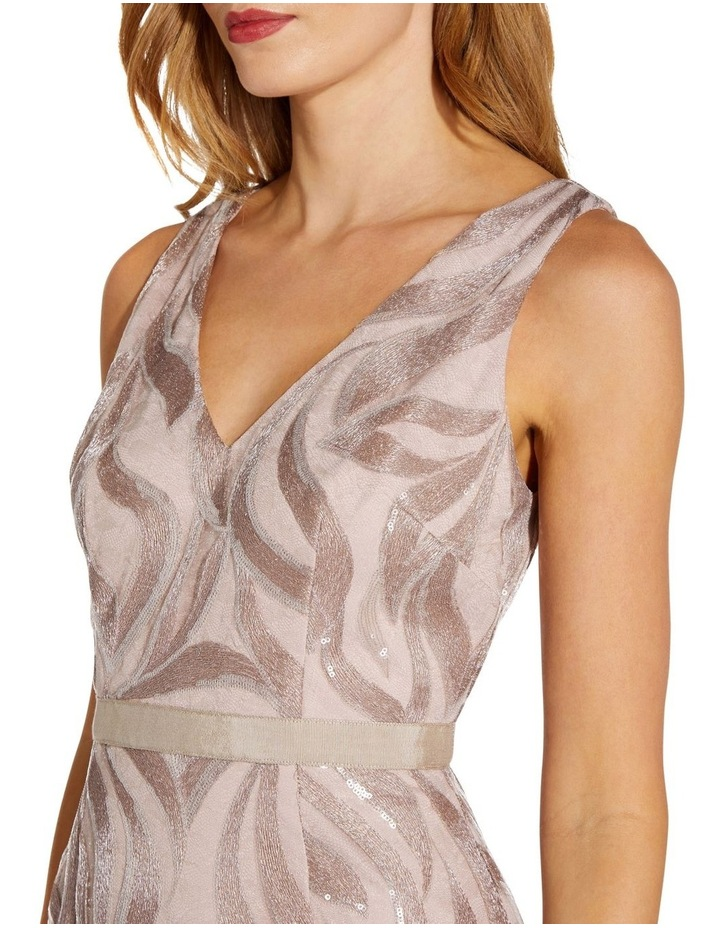 Sequin Embroidered Sheath Dress image 5