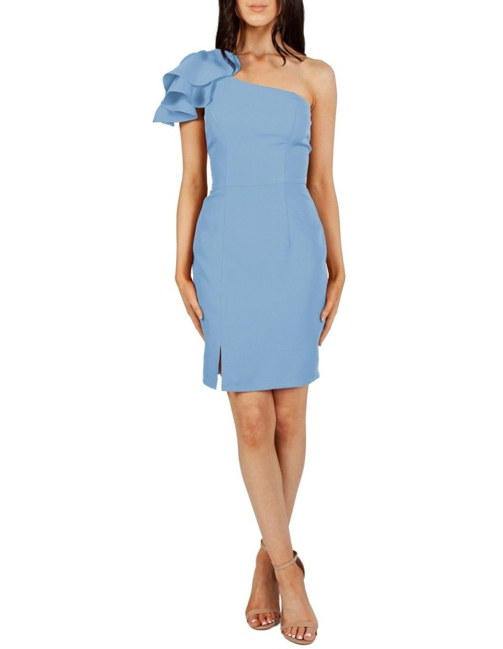 Valentina One Shoulder Ruffle Mini Dress image 1