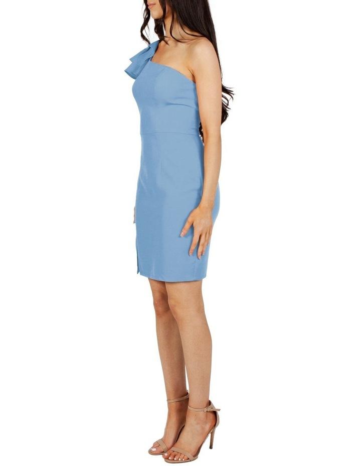Valentina One Shoulder Ruffle Mini Dress image 2