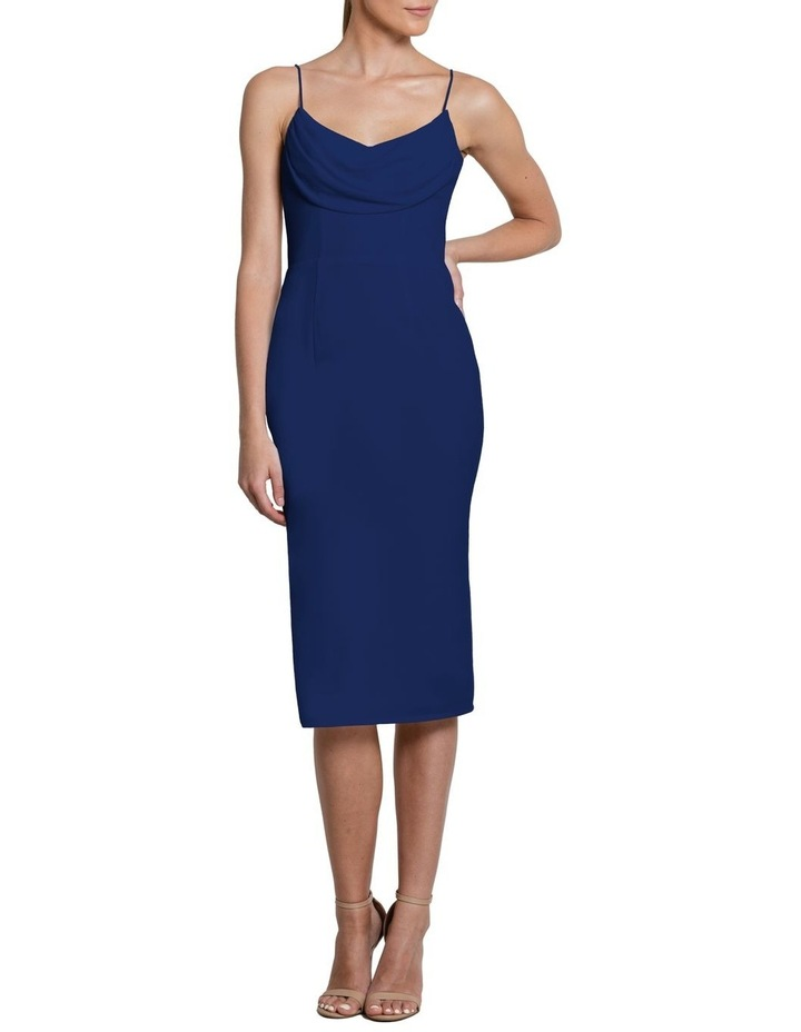 Eden Cowl Neck Midi Dress image 1