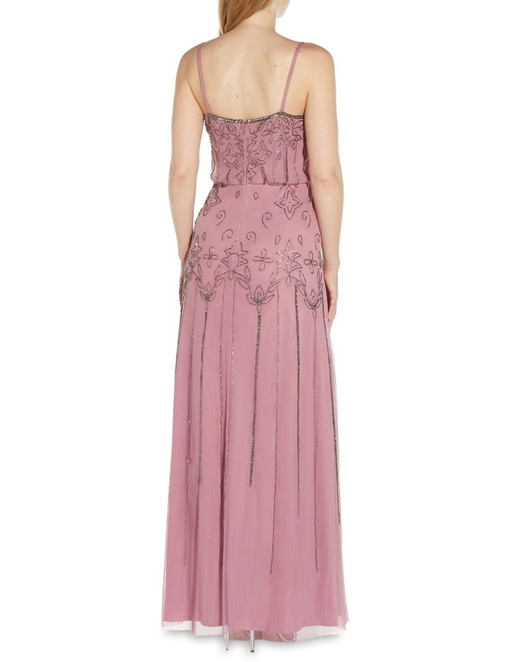 Beaded Blouson Gown Dress image 2
