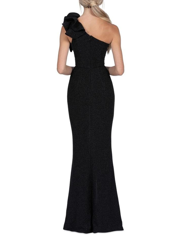 Sue Maxi Dress Metalic Black image 3