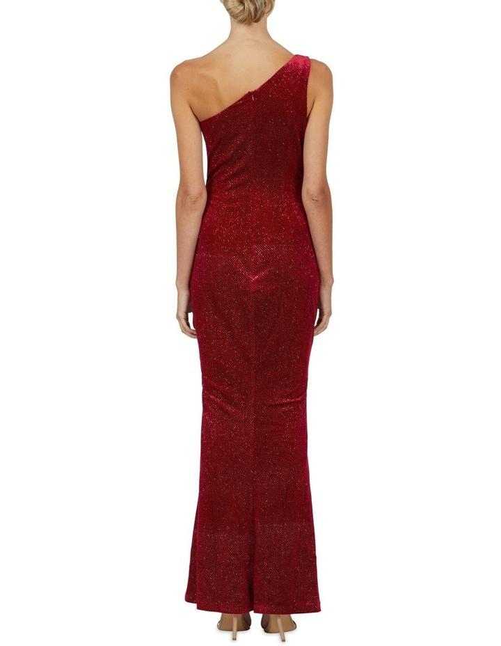 Holly One Shoulder Split Maxi Dress image 3