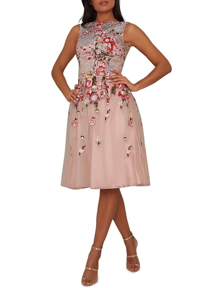 Ambar Skater Dress Pink image 1
